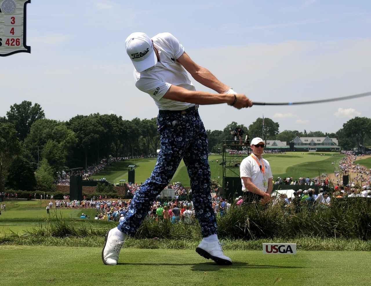 画像: 強すぎっ! ジャスティン・トーマスの飛ばしの秘密「床反力」って、なんだ? - みんなのゴルフダイジェスト