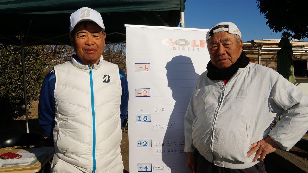 画像: 見事メダリストに輝いた、小野孝司さん(左)、佐藤典生さん(右)