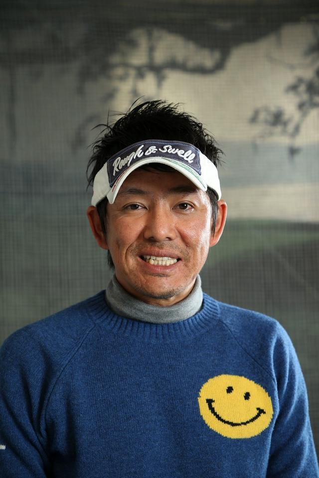画像: 森守洋(もり・もりひろ)原江里菜のコーチを長年務める。プロだけでなく、アマチュアにもレッスンを行う、プロとアマ両方の気持ちがわかるコーチ
