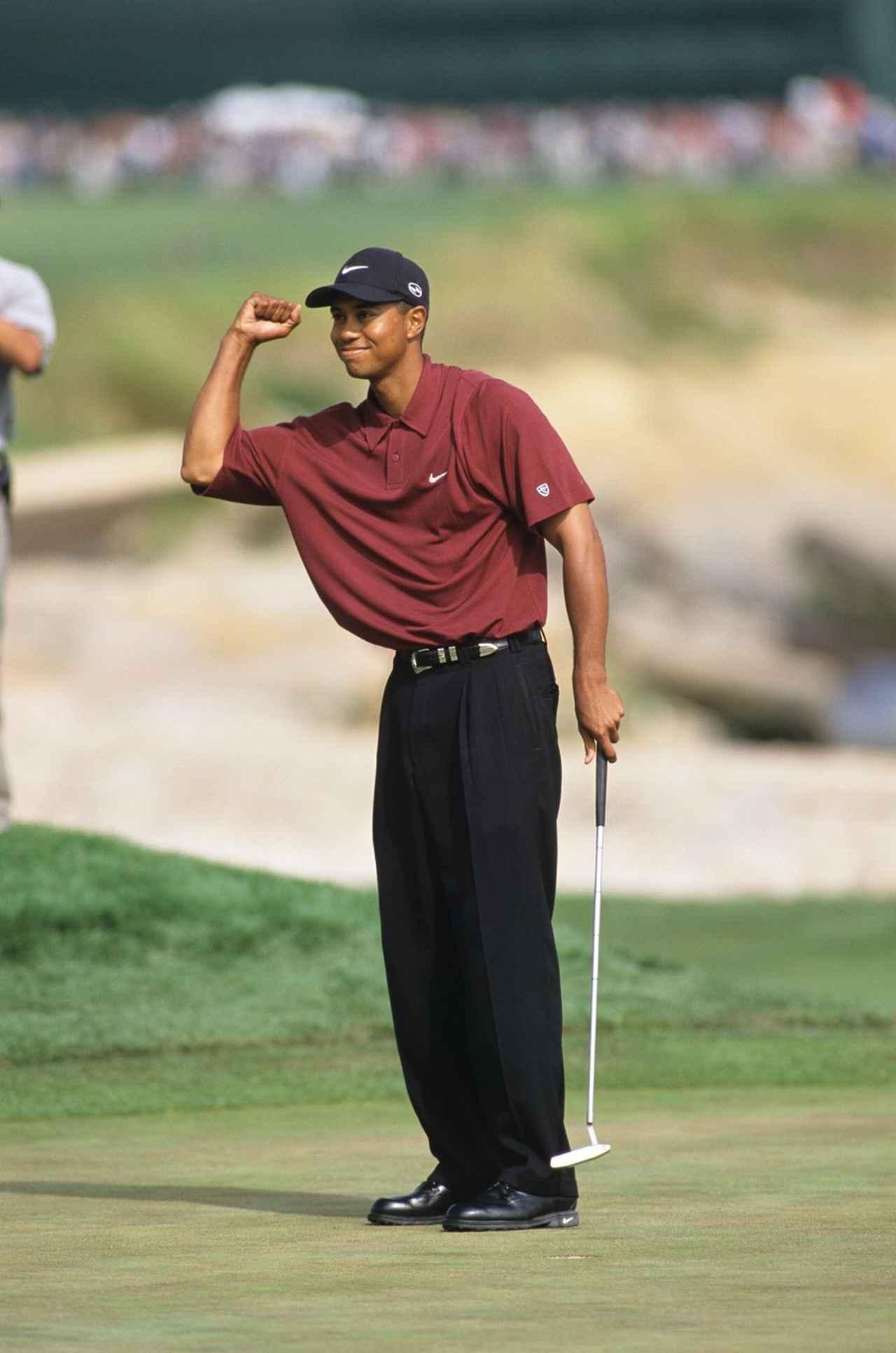 画像: 2000年の「全英OP」「全米OP」「全米プロ」のメジャー3勝を成し遂げたとき、キャメロンパターを使っていた(写真は2000年全米OP)