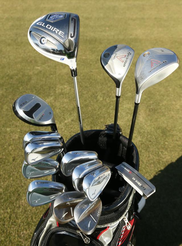 画像: 「武器はドライバーとパター」いぶし銀・秋葉真一のこだわり14本 - みんなのゴルフダイジェスト