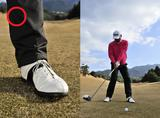画像: 左足のヒールアップで回転力アップ! 崎山武志の無理しない「足使い」 - みんなのゴルフダイジェスト