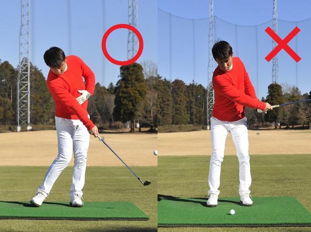 画像: 右手一本打ちを行えば、手先を使わず体で打てるようになる
