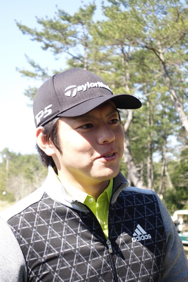画像: 幡地隆寛(はたぢ・たかひろ) 1993年広島生まれ。2016年プロ転向。名門・東北福祉大学ゴルフ部出身。身長188センチの恵まれた体格から放つ、平均300ヤード越えの豪打が魅力の若手プロ