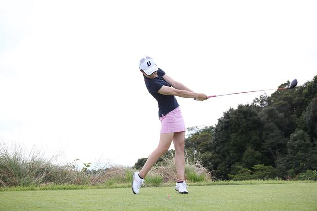 画像3: 誕生日おめでとう! プロ3年目の美女ゴルファー・大山亜由美【1994年2月21日生まれ】