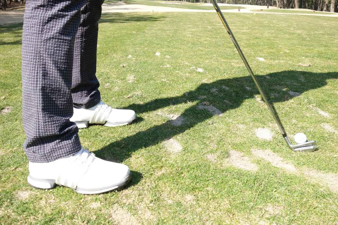 画像: ほんの一足分後ろに下がるだけでミスは未然に防げる