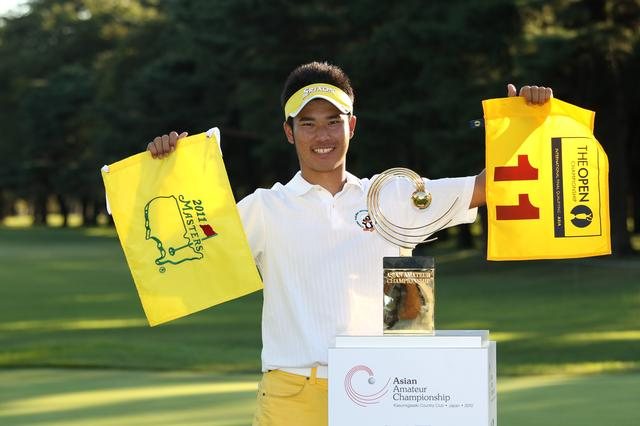 画像: 2010年のアジアアマに勝ち、2011年度のマスターズの出場権を得た。ここから松山伝説がスタートしたとも言える