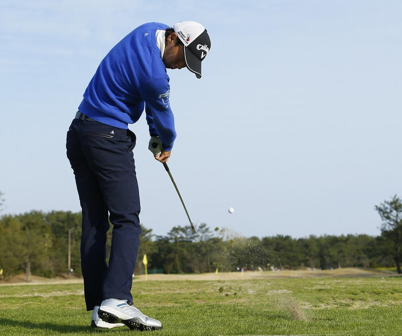 画像: 重永亜斗夢の逆風に負けないアイアン「3つのコツ」 - みんなのゴルフダイジェスト