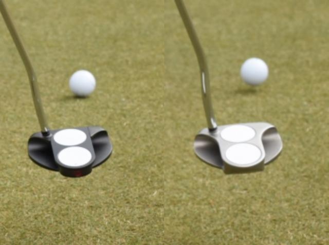 画像: O-WORKSで打ったボールはすぐに順回転(左)しているのがわかる