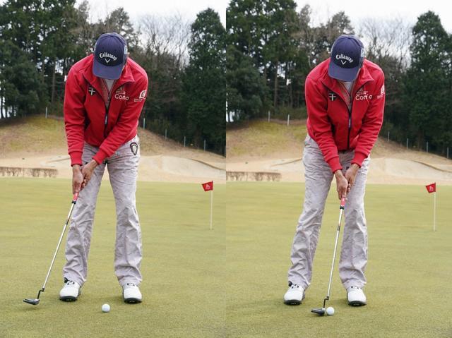 画像: ショットの延長線上のイメージで、インパクトでしっかりヒットしたいゴルファーでもネオマレットのやさしさを味わえる