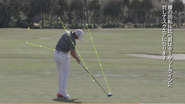 画像: ボールをインパクトする直前には右足の踵が数センチ浮いている www.nike.com