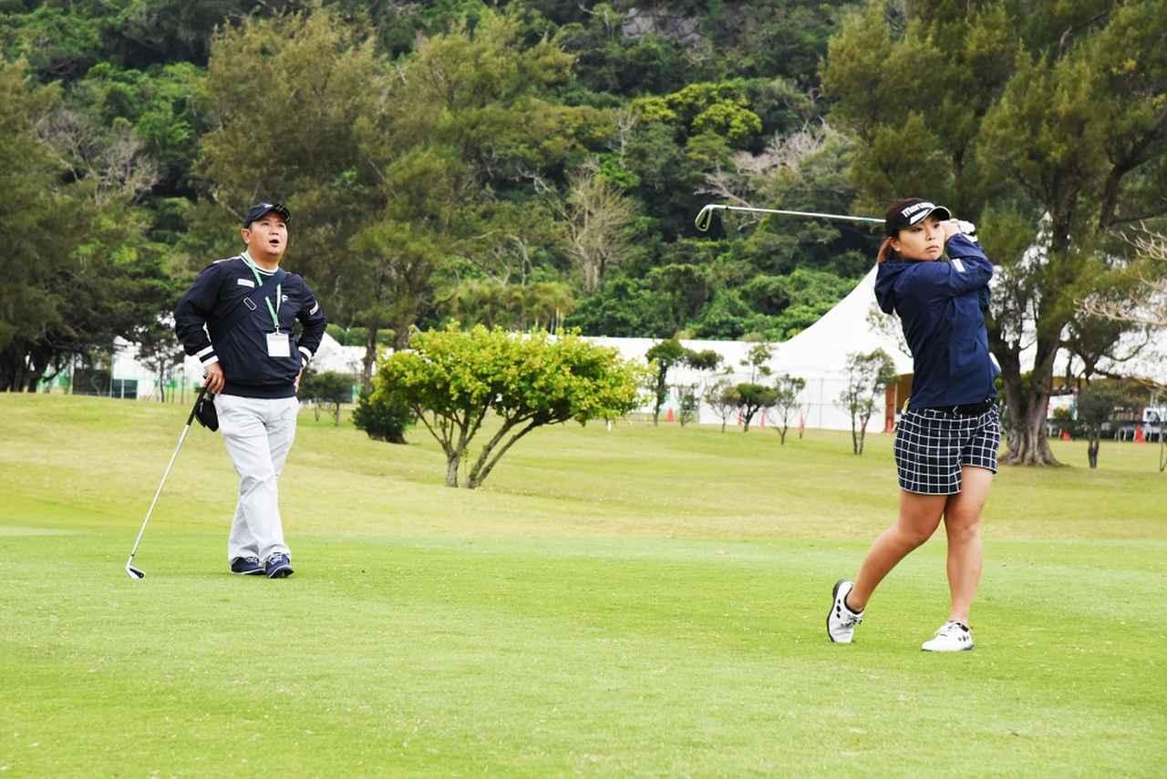 """画像: 遅咲き女子プロ・岩橋里衣を強くした""""コーチQP""""の「地味練」 - みんなのゴルフダイジェスト"""