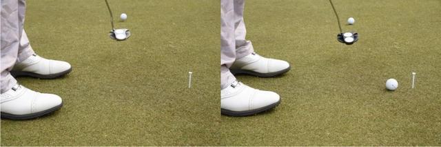 画像: 伝説の名器ホワイト・ホット2ボール(左)と最新モデルのO-WORKS2ボールを打ち比べた