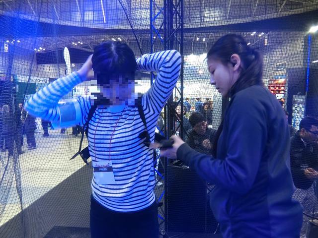画像: バンキシャM子、顔バレはNGなのです!