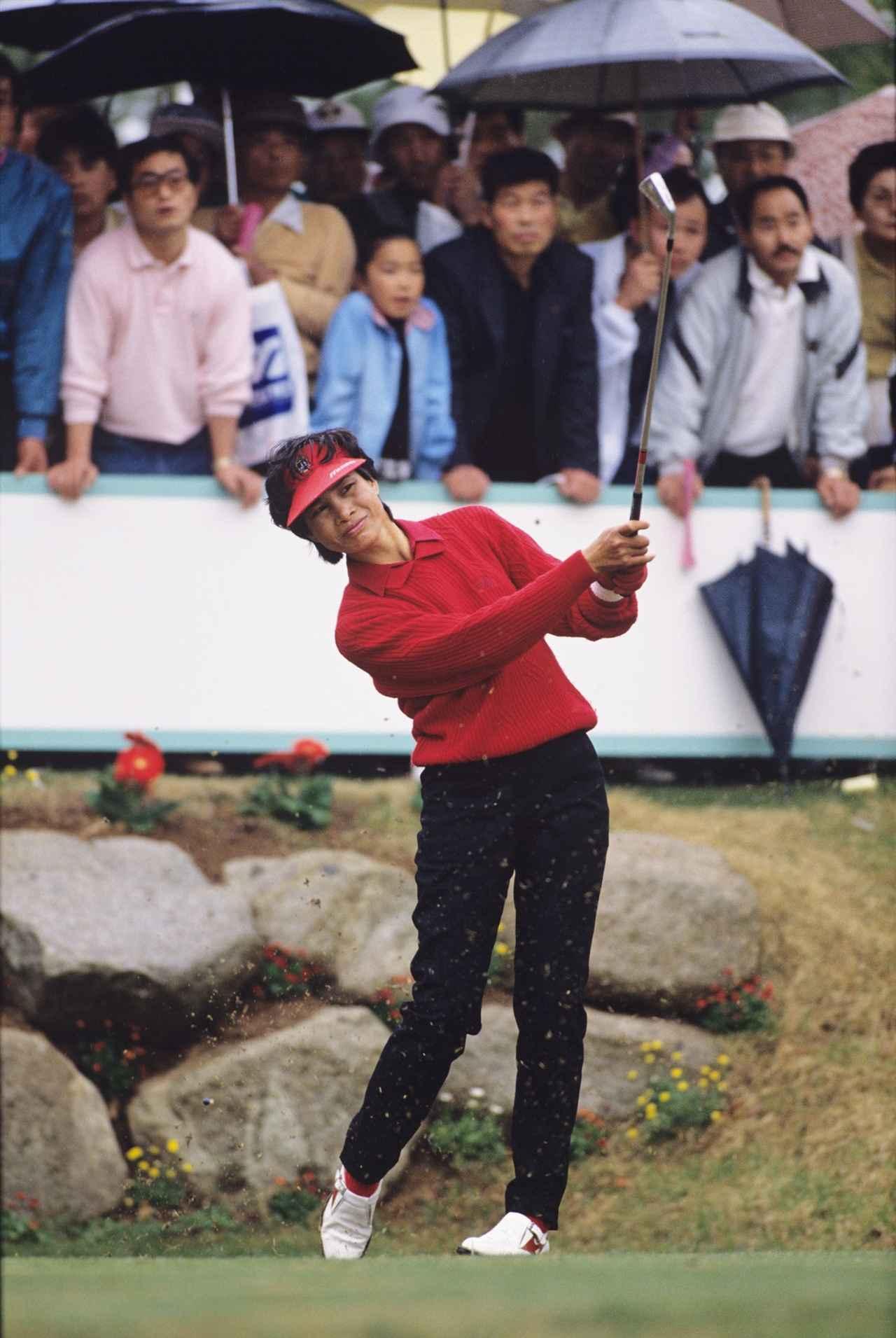 画像: 涂は、国内勝利数「69」の偉業を成し遂げる。樋口久子と並ぶ最多記録タイ