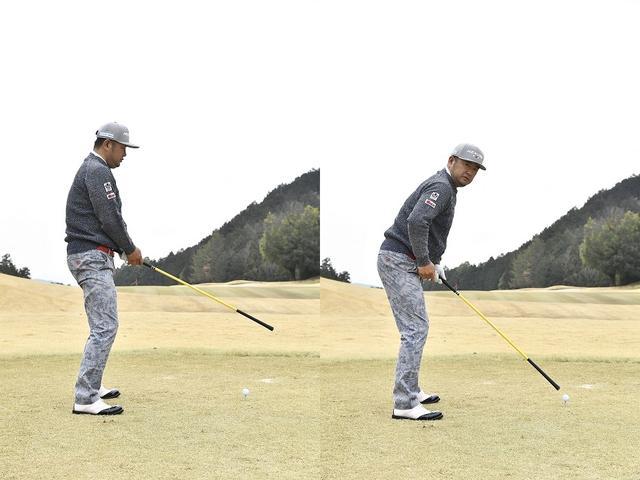 画像: 「バックルライト」でボールを照らす!? レッスン・オブ・ザ・イヤー、安楽拓也の飛ばせるアドレス - みんなのゴルフダイジェスト