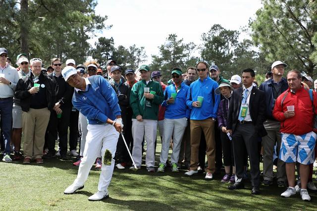 画像: 初日はドライバーが曲がり、リカバリーのゴルフになった