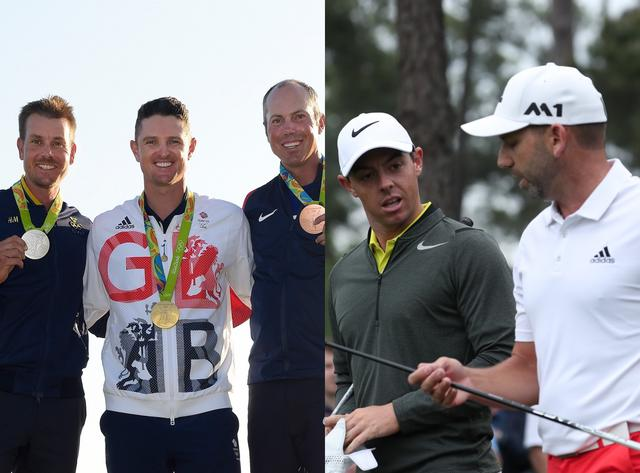 画像: 勝つのはリオ五輪金メダリストのローズ(左写真中)か、スペインの神の子ガルシア(右写真右)か!?