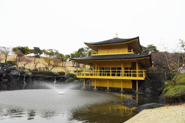 画像: 茶店は「金閣寺」、ティの前には日本庭園!? 開幕戦の舞台・東建多度CC名古屋がすごい - みんなのゴルフダイジェスト