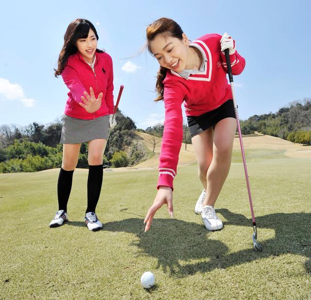 画像: 【ルールQ】素振りしたらクラブがボールに当たっちゃった! - みんなのゴルフダイジェスト