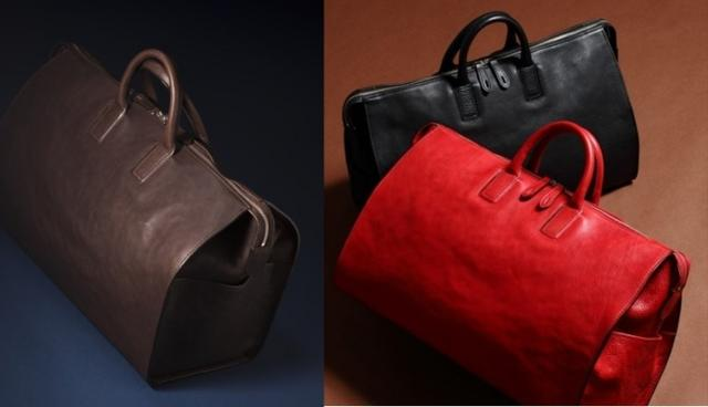 画像: 【限定数】インディード・クラン ヌメ革のボストンバッグ - チョイス道楽