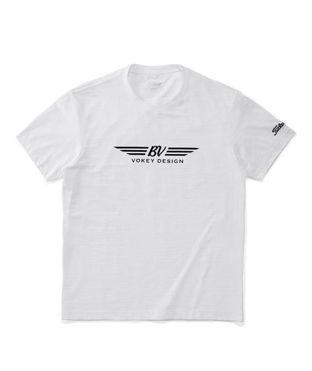 画像: Tシャツ前面におなじみのロゴ。このデザイン、まさに「着るウェッジ」