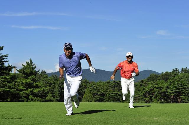 画像: 走る動きとスウィングは一緒の動きなのだ