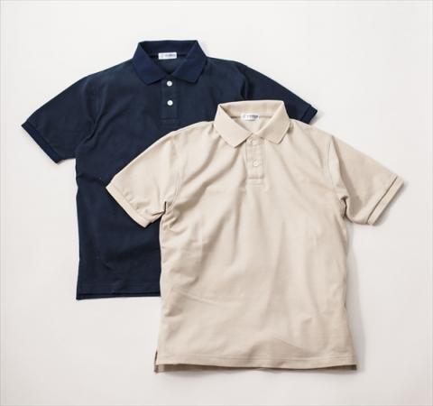 画像: コットン100%吸水速乾ポロシャツ - チョイス道楽