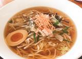 画像: スープはかつおだしが効いている