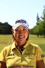画像: 原江里菜(はら・えりな)1987年11月7日生まれ、愛知県出身。安定したゴルフが持ち味。ツアー通算2勝。