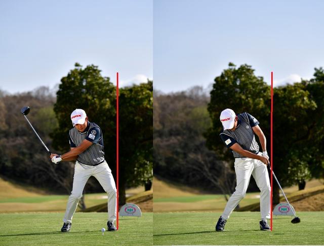 画像: 身長165センチで290ヤードの秘密。今平周吾の「左ひざ」【勝者のスウィング】 - みんなのゴルフダイジェスト