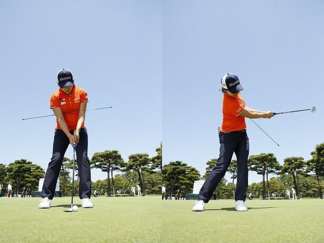 画像: 成田美寿々が目からウロコ! パットは「フォローで打つ」のが正解! - みんなのゴルフダイジェスト