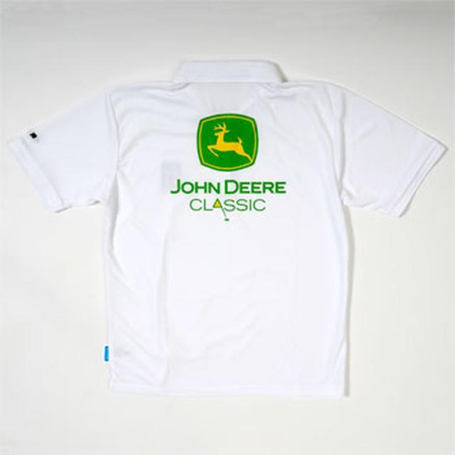 画像: 「ジョン・ディアクラシック」真夏に映える愛らしいロゴで遊び心を。左胸にPGAワッペン付