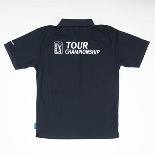 画像: 「ツアー選手権」グレー1色のロゴがとってもスタイリッシュ! 左胸にPGAワッペン付
