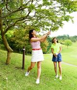 画像: 【ルールQ】素振りしたら、クラブが枝に触れて葉っぱが落ちた! - みんなのゴルフダイジェスト