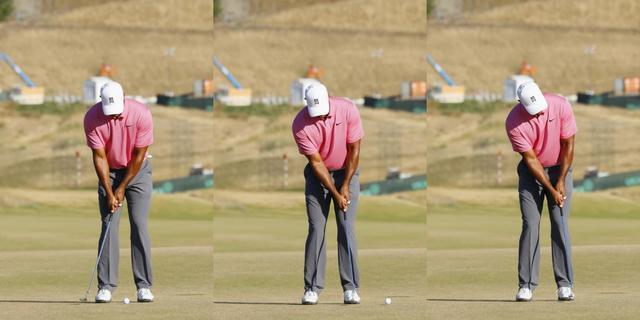 画像: ブレードタイプのパターで「フォロービタ止め」する代表選手といえば、やっぱりタイガー・ウッズ