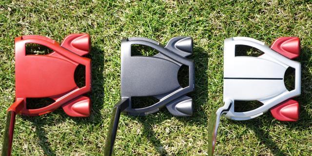 画像: 左からツアーレッド、ツアーブラック、ツアープラチナム。ツアープラチナムのみネック形状が異なる