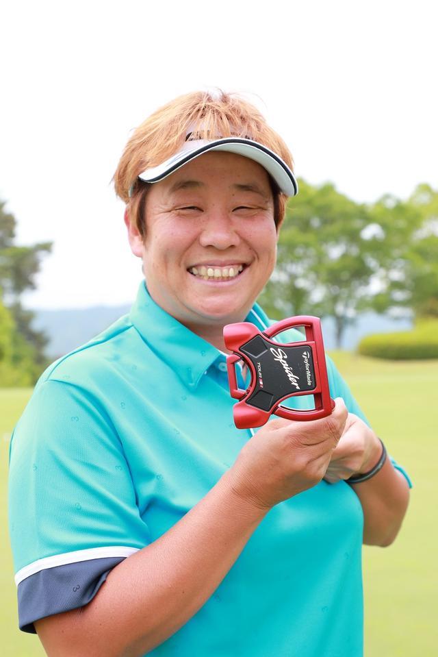 画像: ベテラン・表純子はSPIDERツアーレッドを愛用中