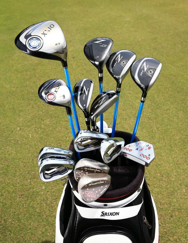 """画像: 「""""0.75インチ""""が私のゴルフを変えた!」青木瀬令奈の14本 - みんなのゴルフダイジェスト"""