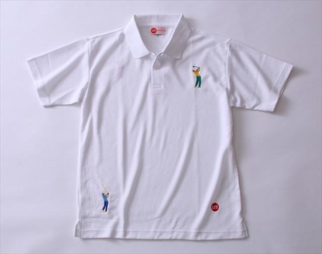 画像: ゴルファーズ刺繍ポロシャツ - チョイス道楽