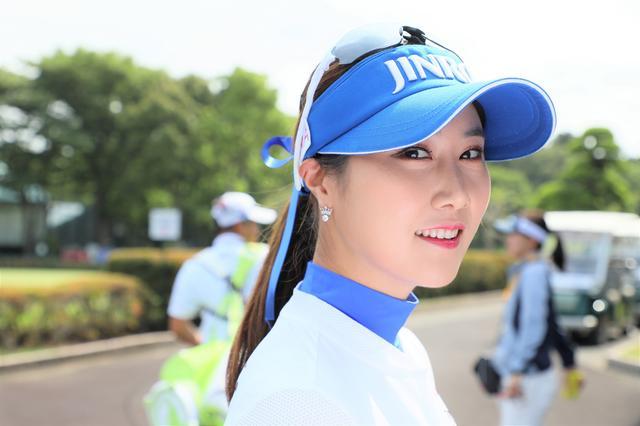 """画像: キム・ハヌルの勝負カラーはなんで""""青""""?  理由を本人に聞いてみた - みんなのゴルフダイジェスト"""