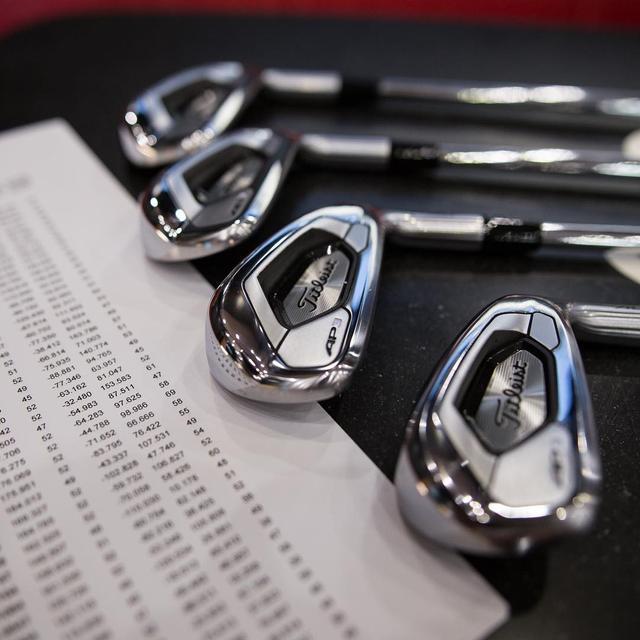 """画像: 注目は""""AP3""""! タイトリスト「718」シリーズがツアーに登場 - みんなのゴルフダイジェスト"""