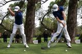 """画像: 僕らにもできる「地面反力」打法【vol.1:地面反力は""""斜め""""に使おう】 - みんなのゴルフダイジェスト"""