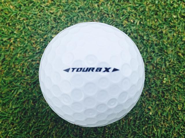 画像: こちらが赤いボールナンバーのTOUR B X