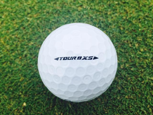画像: こちらが青いボールナンバーのTOUR B XS