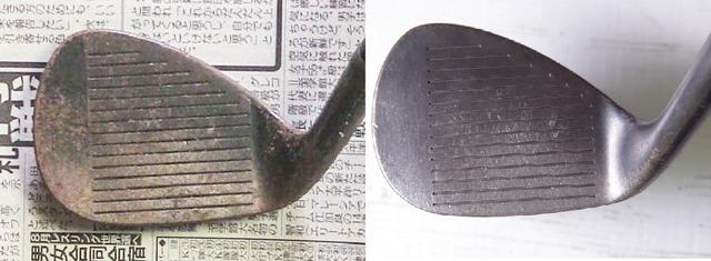画像: サビ取り前(写真左)とクレ5-56使用後(写真右)。細かいサビまできれいに落ちた