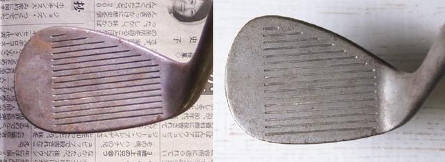 画像: サビ取り前(写真左)と木工用ボンド使用後(写真右)。茶色く残っているところがサビ。ほぼサビが取れたといってもいい。これは優勝か……?