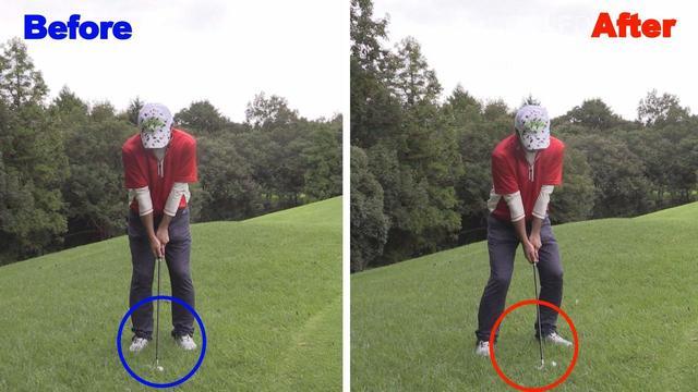 画像: ポイント 1:やわらかいアプローチはサンドウェッジを使おう