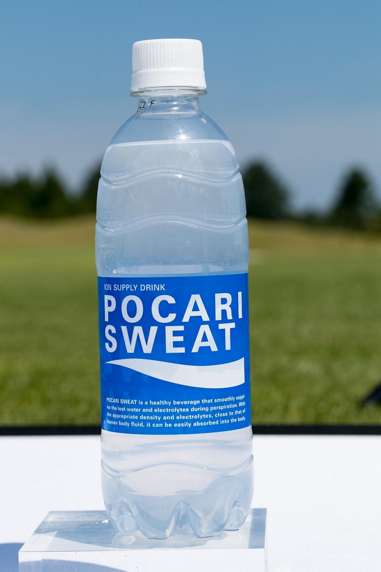 画像: 飲む点滴ことポカリ! 人の体液に含まれる7種類のイオンが含まれている