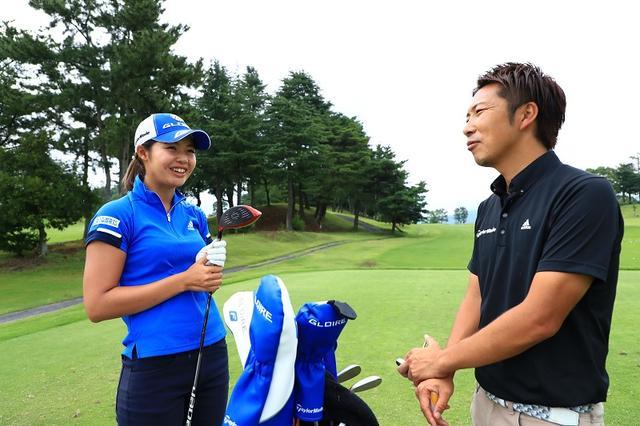 画像: 契約プロの松森杏佳も好印象。右が今回話を聞かせてくれた鵜野さん